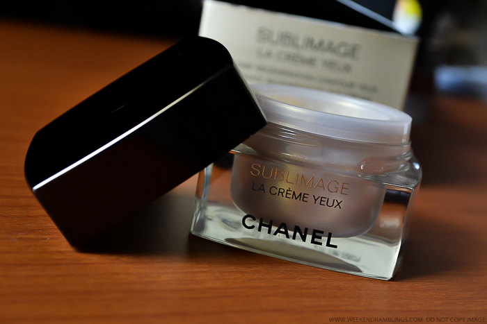 Chanel Sublimage La Creme Yeux Ultimate Regeneration Eye Cream Review Antiaging Skincare