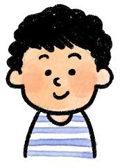 男の子の表情のイラスト(通常)