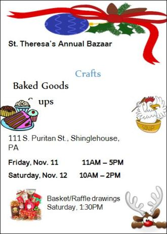 11-11/12 St. Theresa's Annual Bazaar