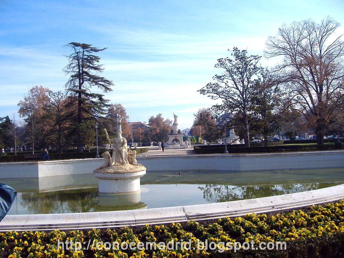 Conocer madrid jardines del palacio real de aranjuez for El jardin de aranjuez