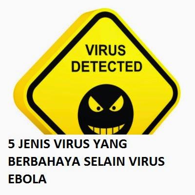 5 Jenis Virus Yang Berbahaya Selain Ebola