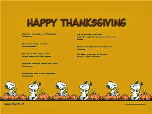 Famous Thanksgiving Jokes For Kids
