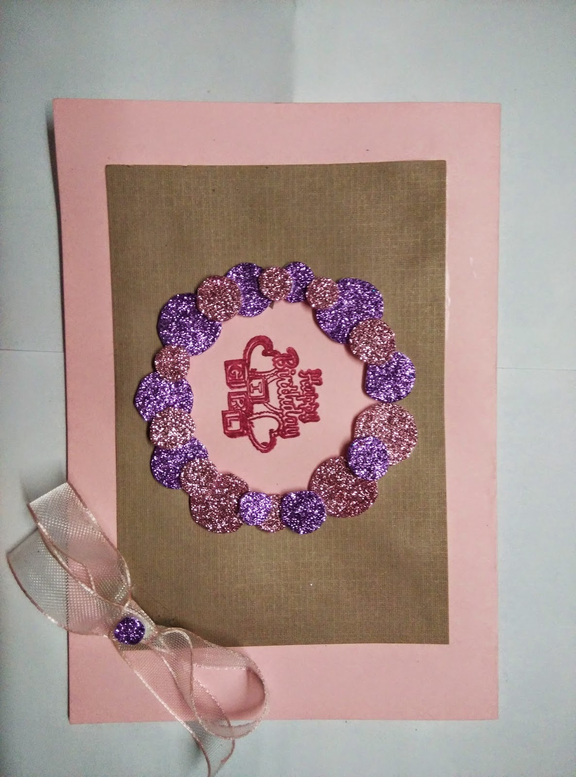 Handmade Birthday Card For Little Girl Divscreations A Lover Of