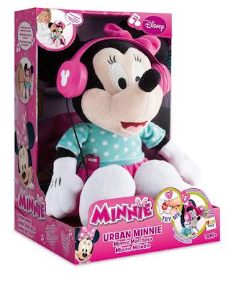 JUGUETES - DISNEY Minnie Mouse  Marchosa | Peluche interactivo  IMC Toys 181588 | Comprar en Amazon