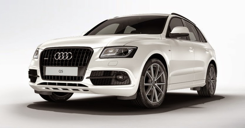 audi q5 motoring high gloss black package available with 2015 q5 3 0t. Black Bedroom Furniture Sets. Home Design Ideas