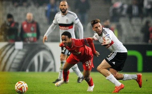 Beksitas 1-0 Liverpool (Agg 1-1)