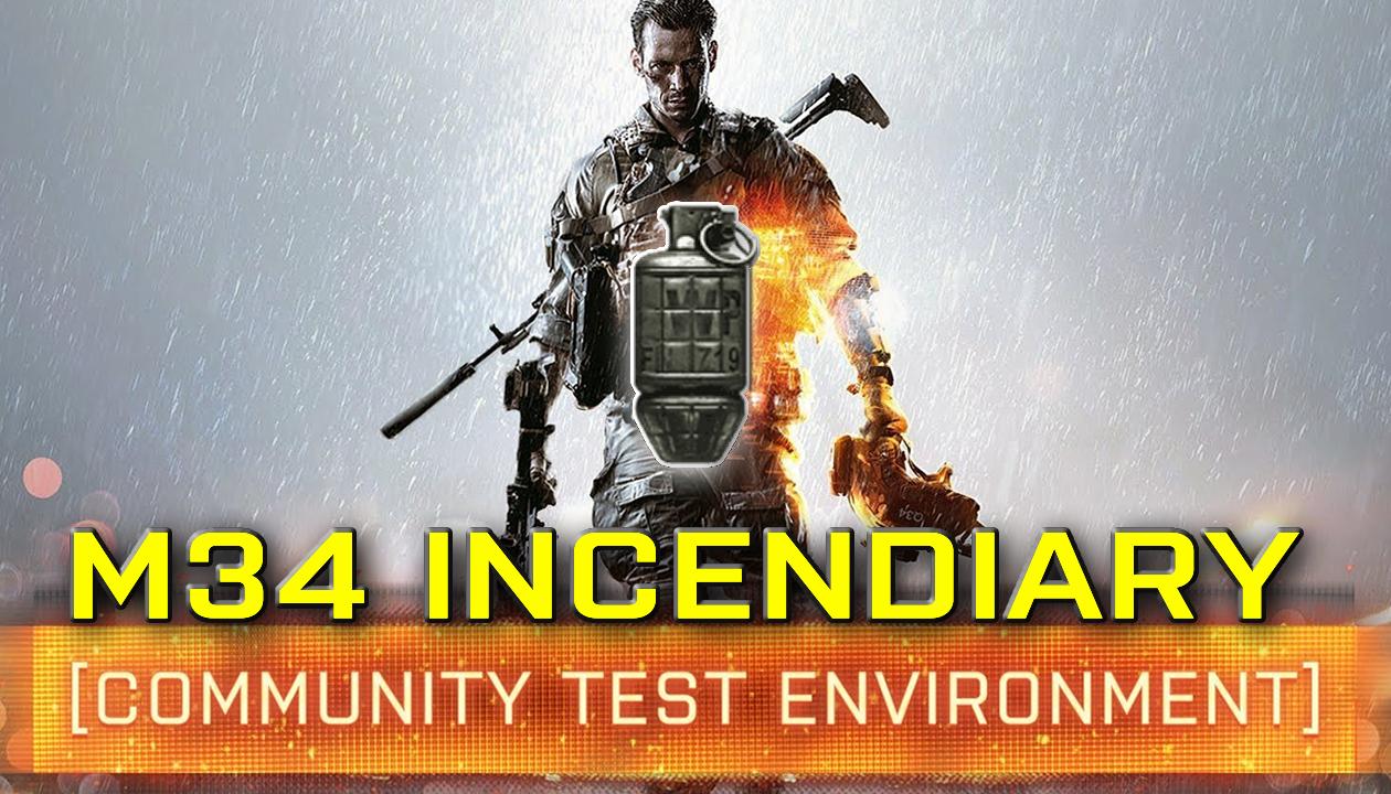 Granada Incendiária M34 está sendo melhorada no Battlefield 4