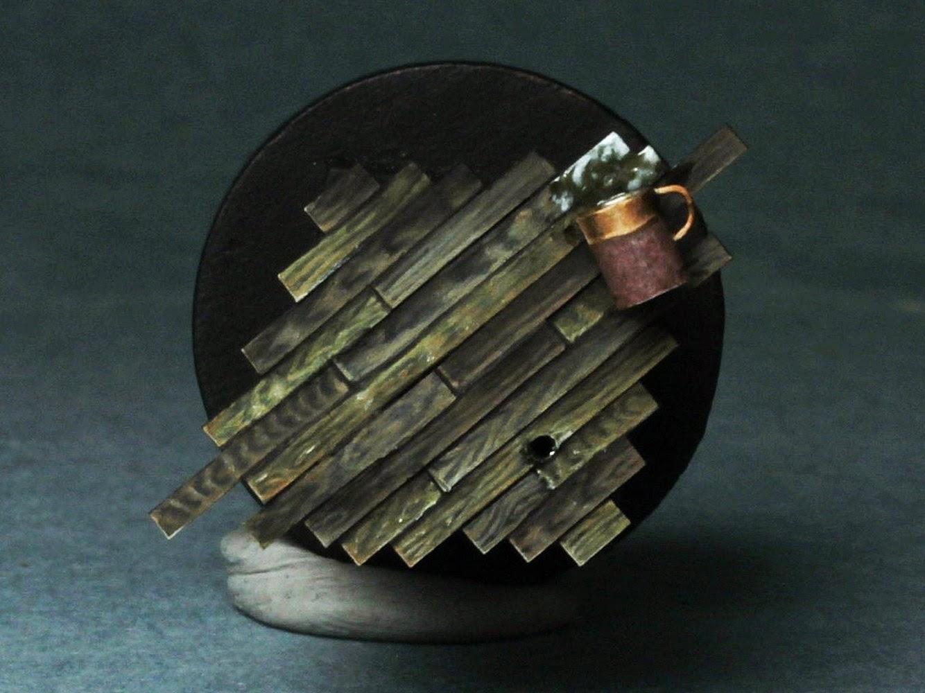 Rosman Studio: Paso a paso: Como simular madera sobre plasticard ...