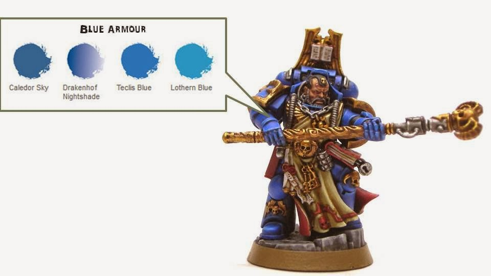 Watching Paint Dry: Space Marine Librarian Painting Guide ...