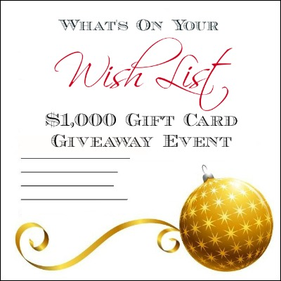 what%27s+on+your+wishlist+event Whats On Your Wish List Event   Bloggers Wanted