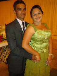 pb.josé xavier e esposa Alinny kandjany
