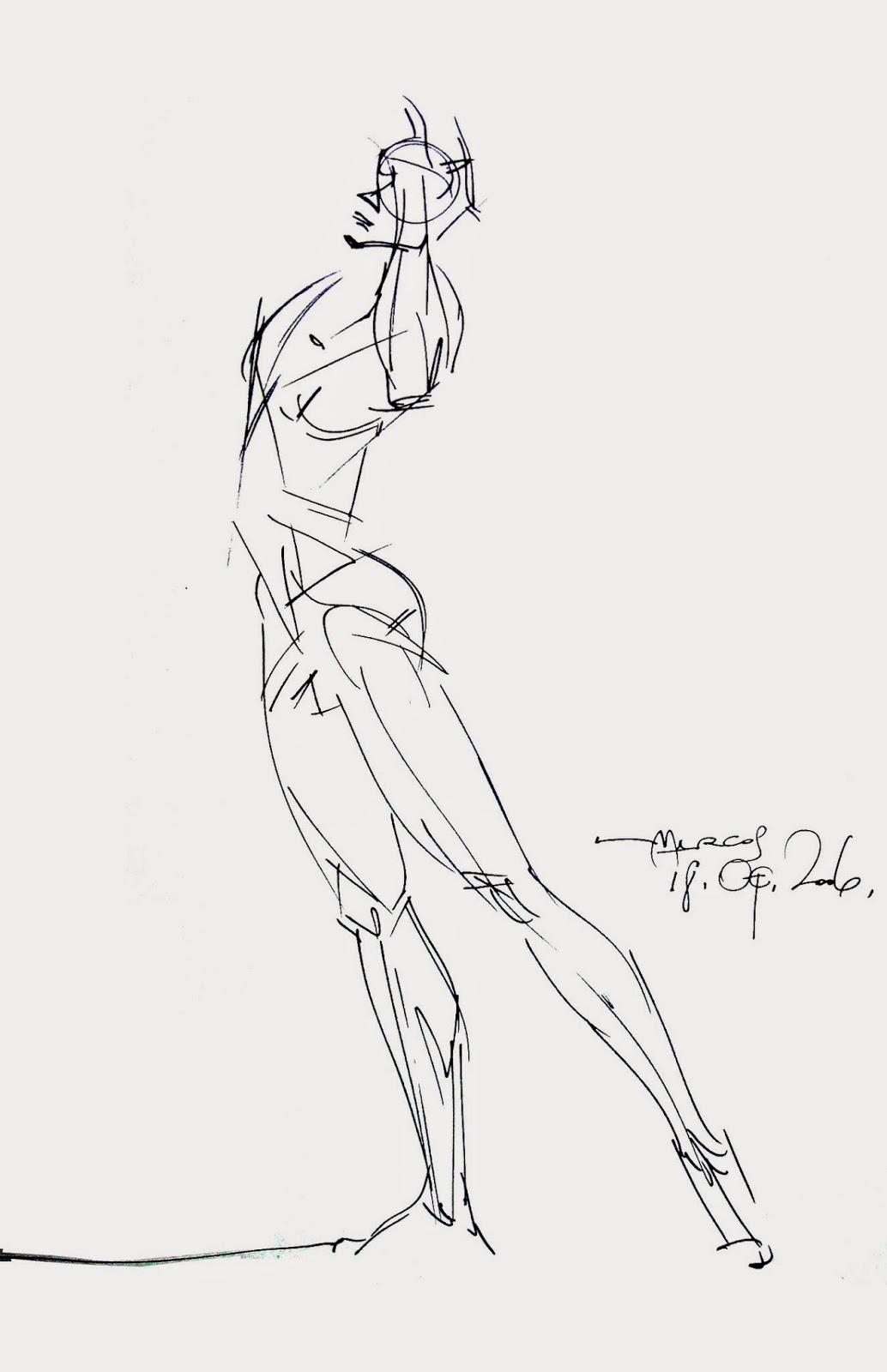 Marcos Mateu-Mestre: Live Drawing Sessions