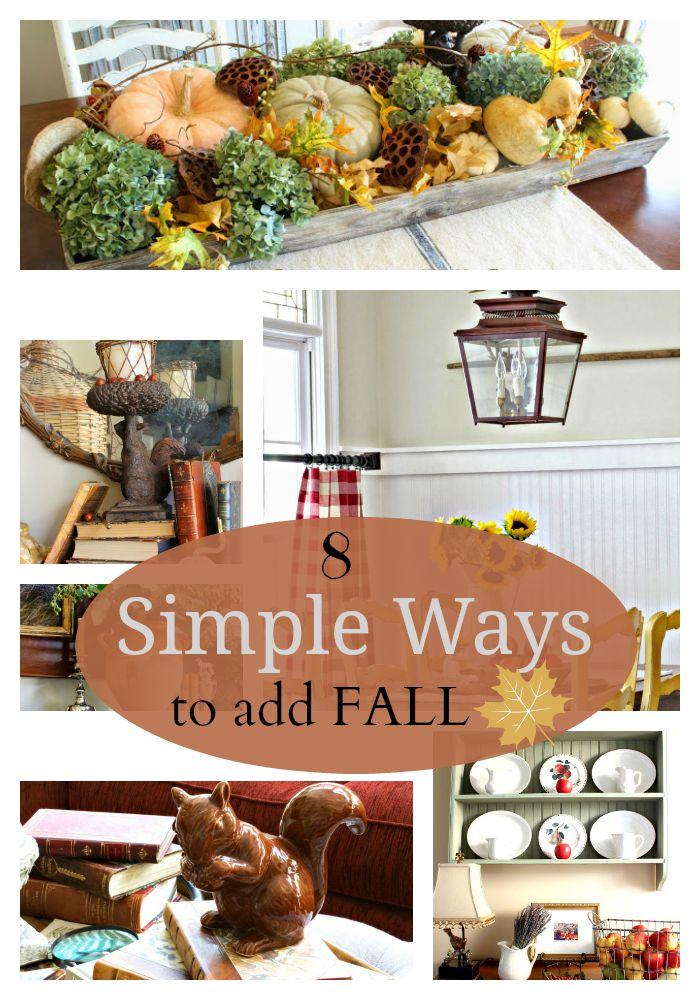 Savvy Southern Style : 8 Simple Ways to Add Fall