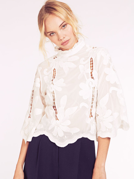 My Holiday Wish List Dahlia Blouse