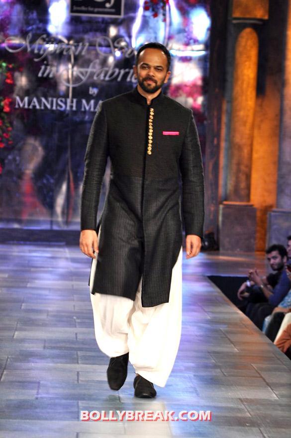 , Manish Malhotra 'mijwan-sonnets In Fabric' Fashion Show Photos