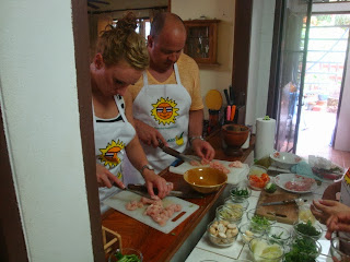 Phuket private cookng classes home cooked Thai food