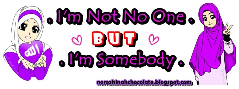 I'm not no one but I'm somebody