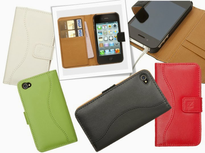 Good quality iPhone 4 &4s Wallet Leather Case for Men and Women