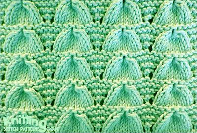 Lucina Shell Knitting Stitch Patterns
