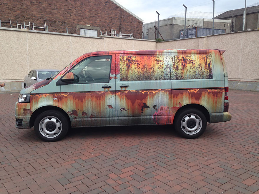 10-Clyde Wraps-Car-Vinyl-Wrap-with-the-Rust-Treatment-www-designstack-co