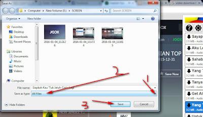 Cara Download Lagu dari Joox melalui Video Download Helper