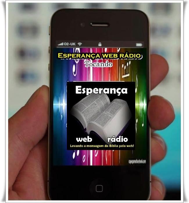 App para celular esperança web rádio.