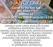 Nancy Lake now at Center for the New Age