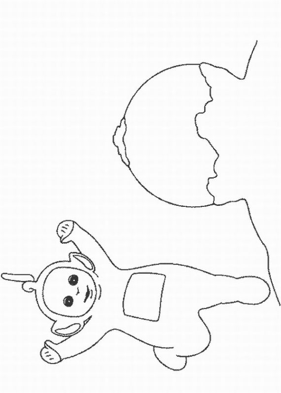 teletubbies coloring pages learn to coloring