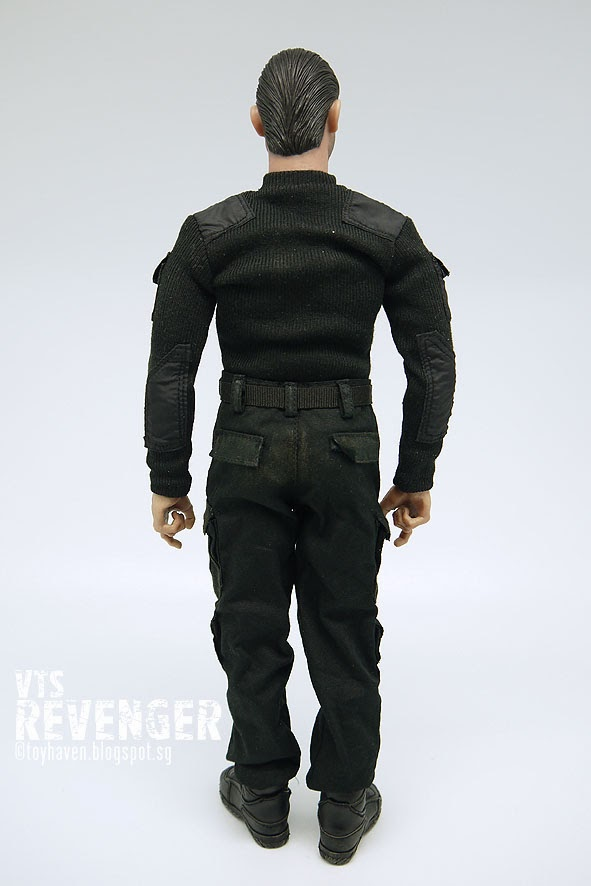 1//6 scale toy VTS The Punisher Revenger Hands x3