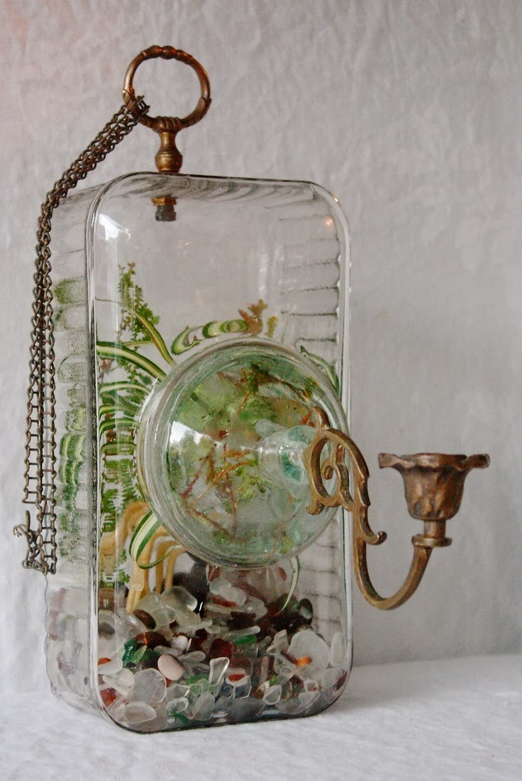 Junk Assemblage Unique Terrarium Art By Jose Agatep