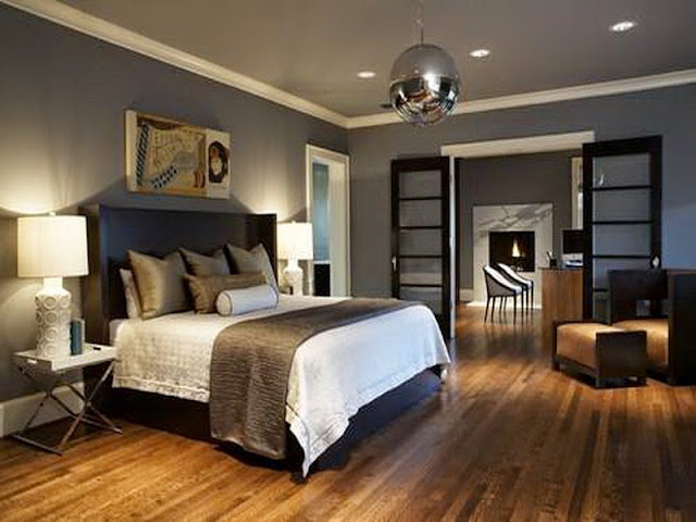 Tips to Have Nice Grey Bedroom Ideas with Black and White Accent