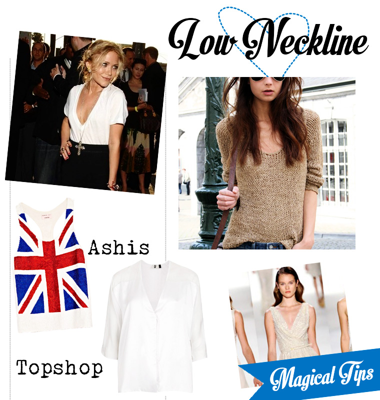 neckline illusions