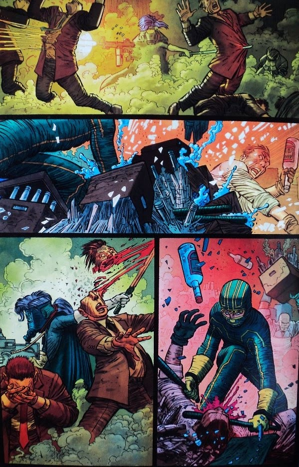 KICK-ASS 3 - Millar Romita Jr.