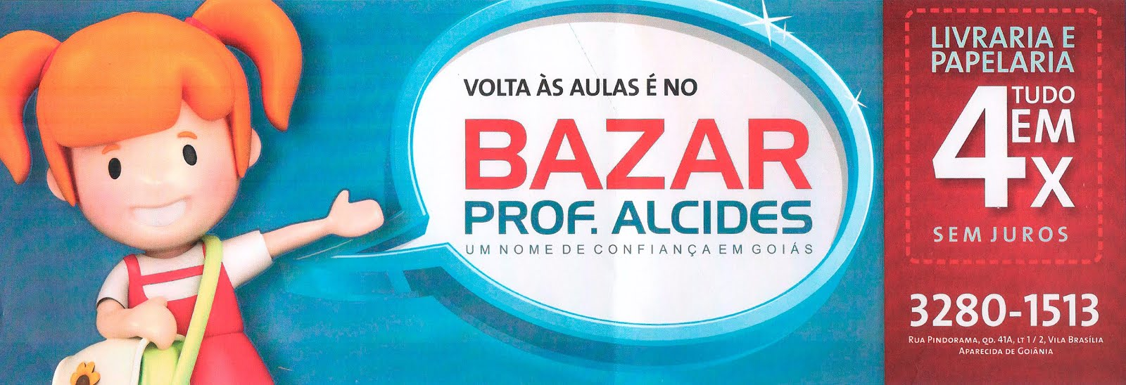 Bazar professor Alcides