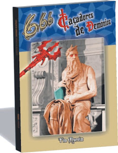 Capa do romance 666 - Caçadores de Demônios