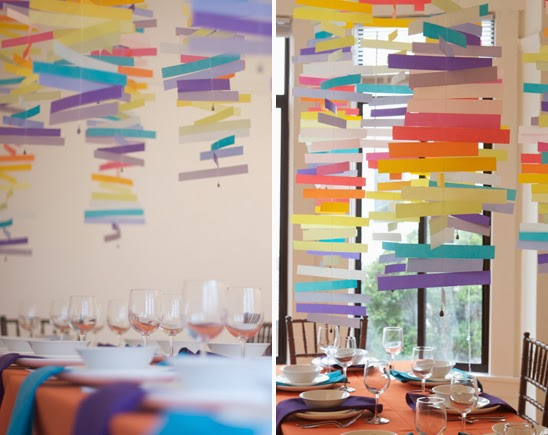 Project Wedding's Modern Colorful Mobiles