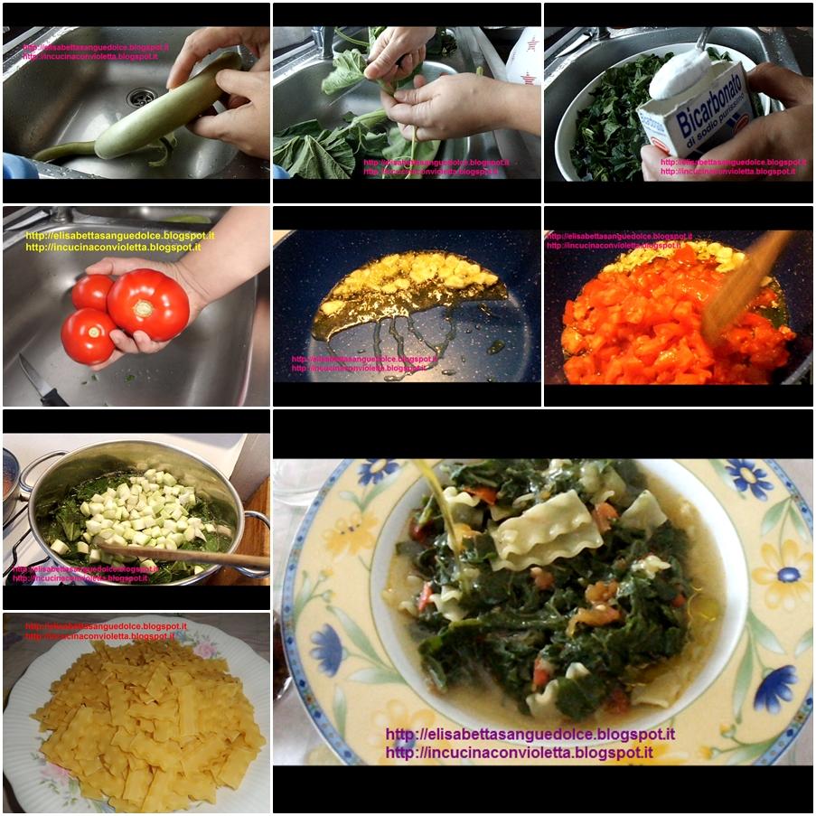 In Cucina Con Violetta: Pasta con Tenerumi