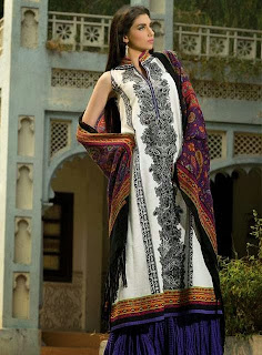 Umar Sayeed Embroidered Dresses Collection 2013
