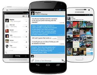 Az android alternativ sms küldői