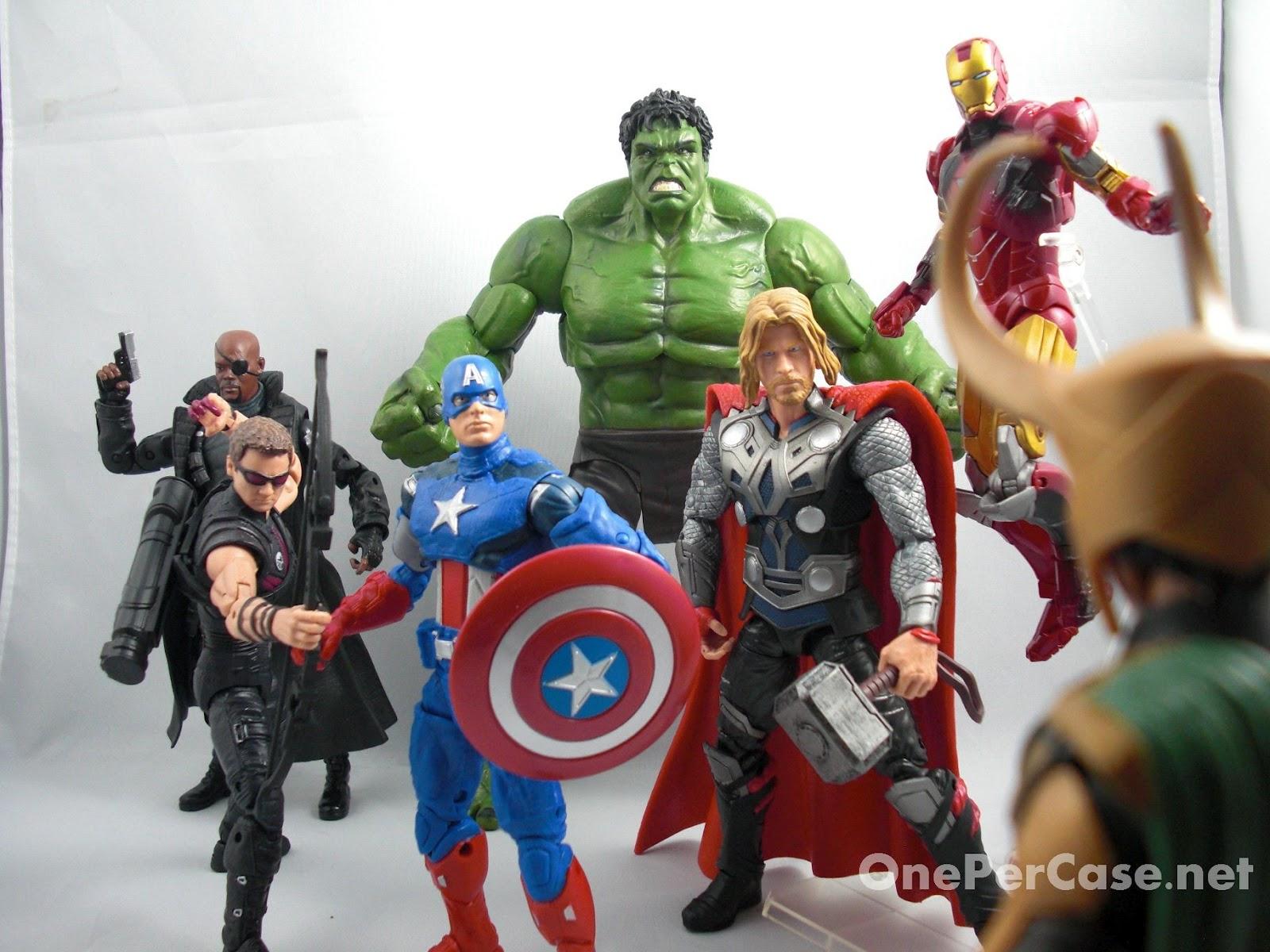 One Per Case: The Avengers Marvel Select Hulk