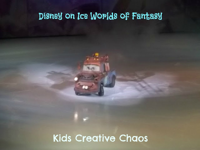 Disney on Ice Worlds of Fantasy Tow Mater
