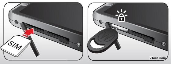 Insert Remove micro SIM Card slot RemovalInserting Tool Motorola RAZR M