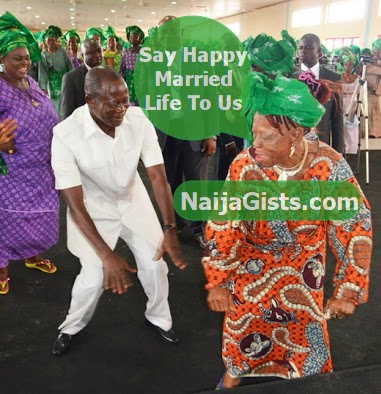 governor oshiomhole new wife