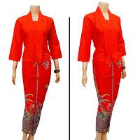 Baju Batik Setelan Gamis
