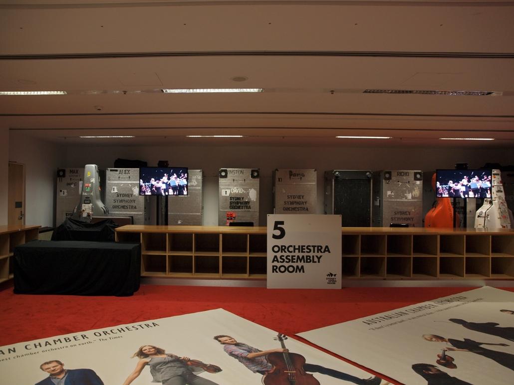 雪梨歌劇院 - 內部