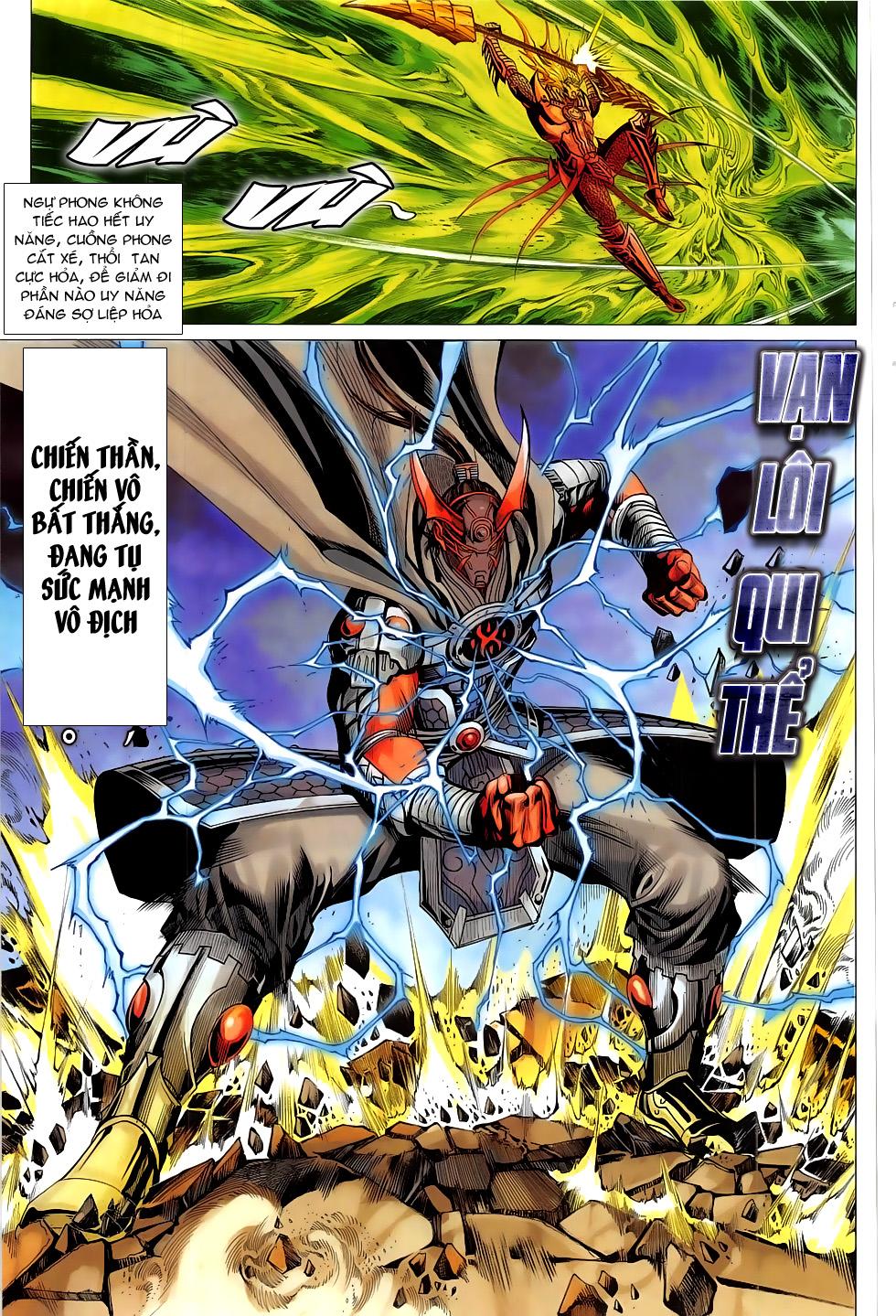 Chiến Phổ chap 20 - Trang 17