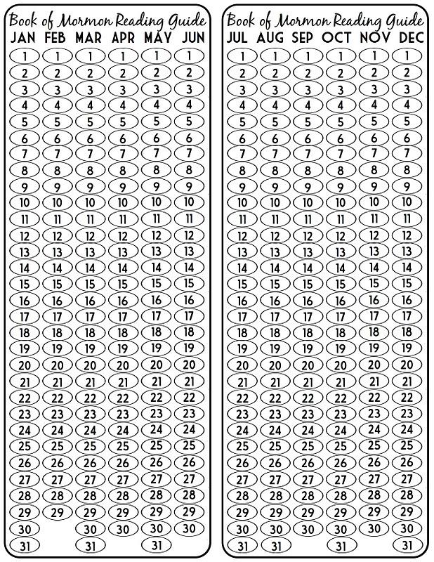 sugartotdesigns: Book of Mormon Reading Chart