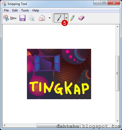 Snipping Tool Print Screen Cara Mudah 5