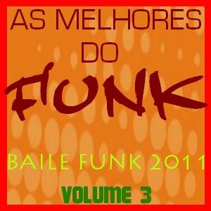 capa As Melhores do Funk Volume 3