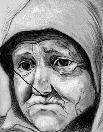 wanita cepat tua